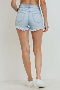 Annabelle Denim Shorts - Light Denim