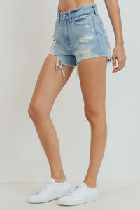 Marigold Denim Shorts - Light Denim