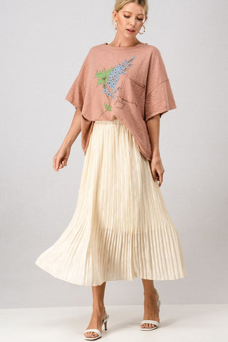 Heavenly Pleated Skirt