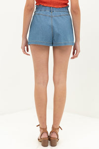 Shayla Denim Shorts - Medium Wash
