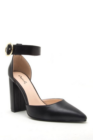 Mixed Signals Heel - Black