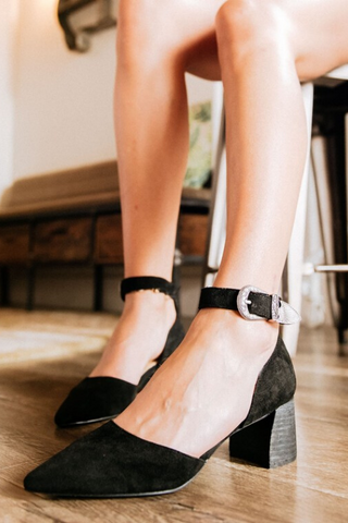 Avenue Heel - Black
