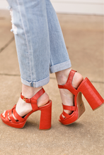 Load image into Gallery viewer, Ginger Platform Heel