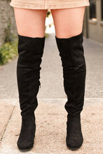 Load image into Gallery viewer, Linden Thigh High- Black