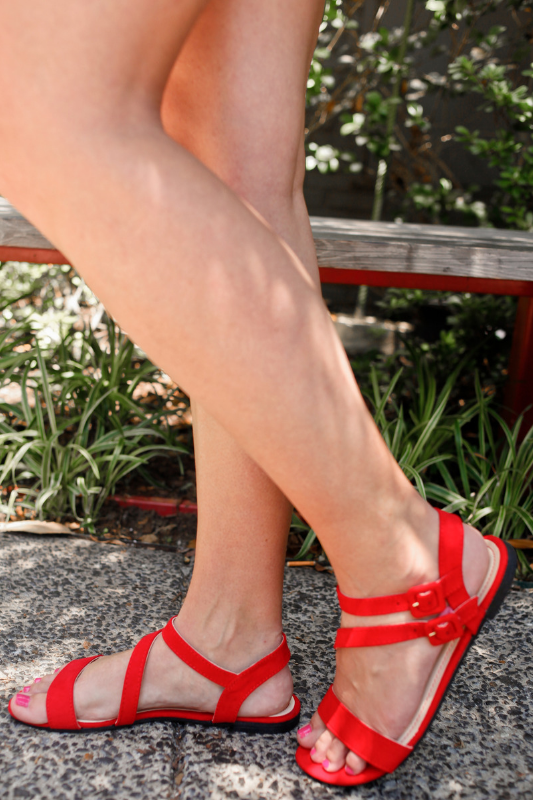 Splendid Sandal - Red