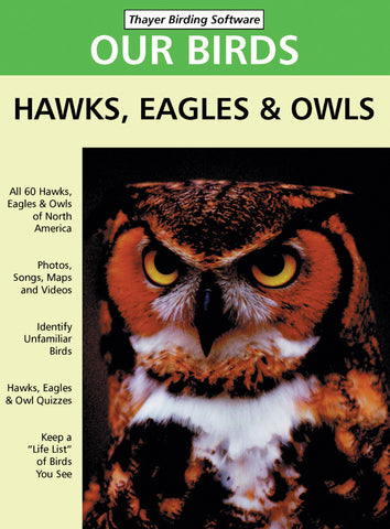 CD-ROM - Hawks, Eagles, and Owls
