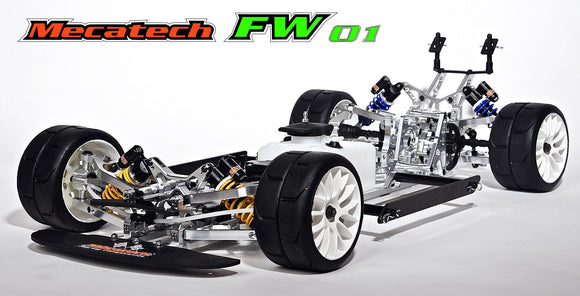 Mecatech FW01 2019 Chassis (No Brakes, No Shocks)