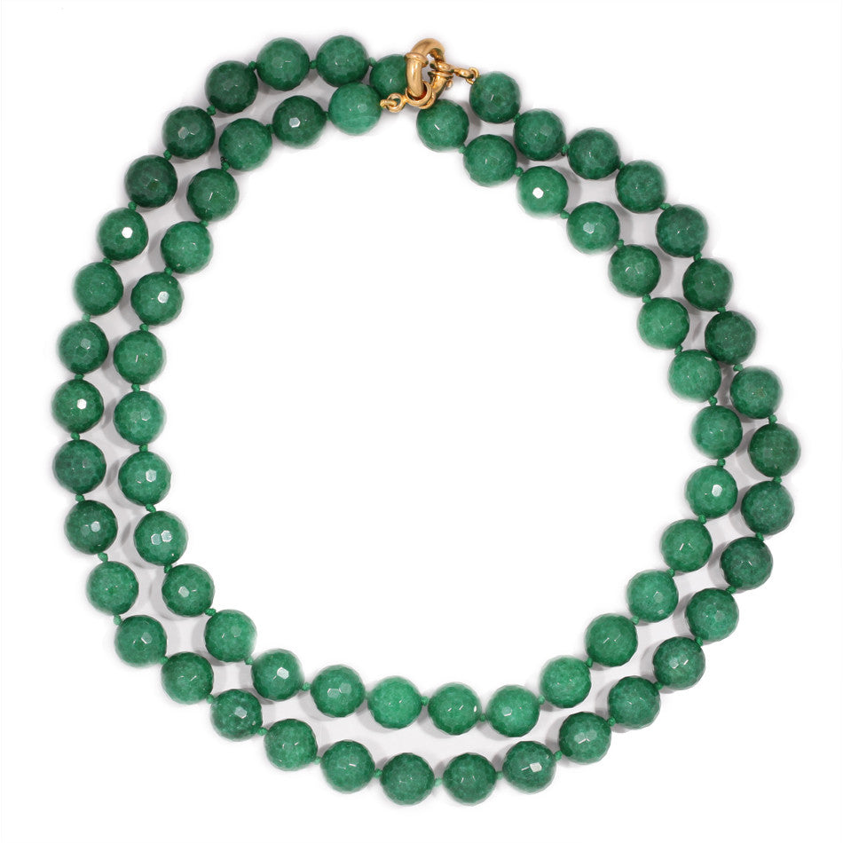 """Green godess"" necklace"