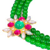 """Green with envy"" necklace"