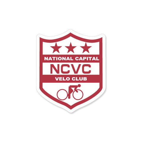 "NCVC 3"" Sheild Decal"