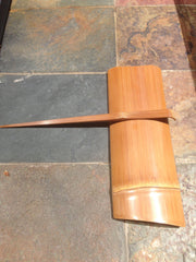 Bamboo Tea Scoop and matching Tea Pick