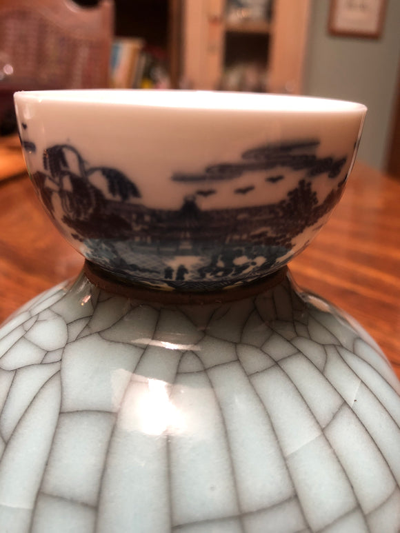 Small porcelain tea cup