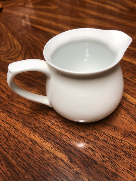 White small tea pitcher
