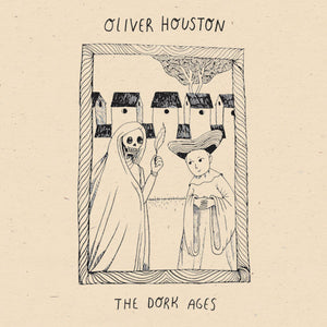 "oliver houston - 'the dork ages' (7"" vinyl)"