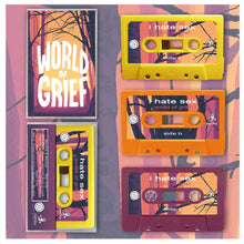 Load image into Gallery viewer, i hate sex - 'world of grief' (cassette)