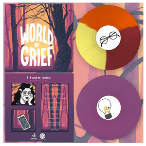 "i hate sex - 'world of grief' (12"" vinyl)"