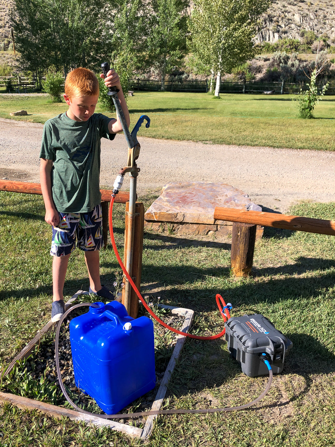 Filtering Campground Water