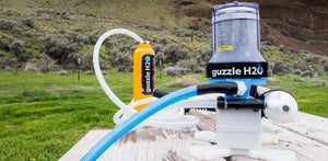 The Spigot is a portable UV water purifier and filter for camping and boating