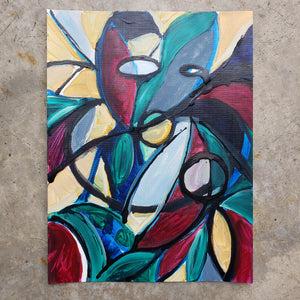 """She"" original painting by Kasey Wanford"