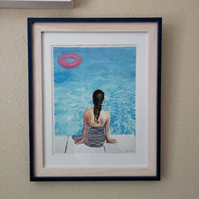 "Load image into Gallery viewer, ""Replenish"" by artist Kasey Wanford. Original watercolor painting"