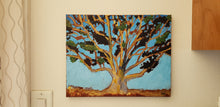 Load image into Gallery viewer, Golden Eucalyptus - by Wanford Acrylic paint on canvas