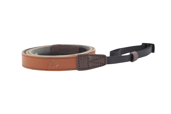 Aive Skinny Strap (Leather) - Cognac