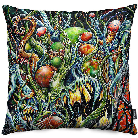 Lovecraft Throw Pillow