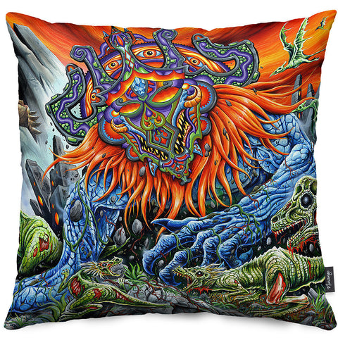 Megagod Eternus Throw Pillow