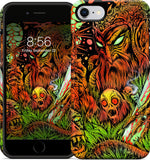 Dancing Death God iPhone Case
