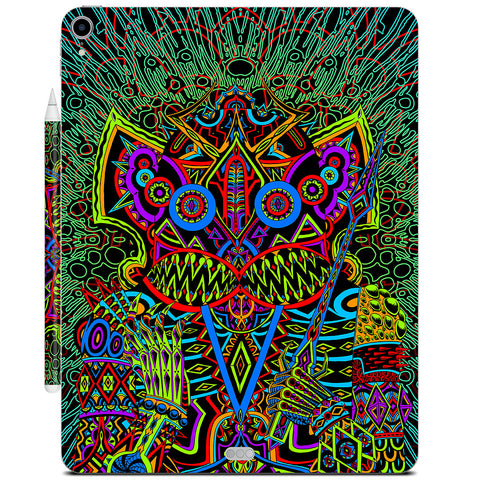 Dancing Death God iPad Skin