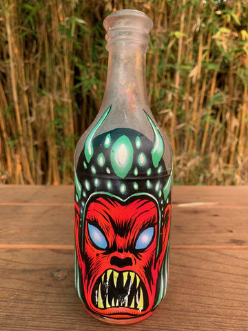 Antique Monster Bottle 11