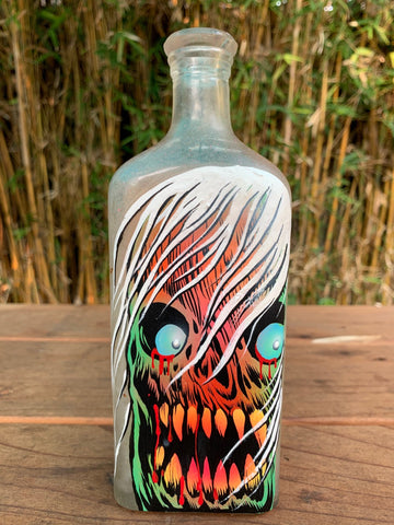 Antique Monster Bottle 1