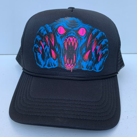 Shadow yeti trucker hat