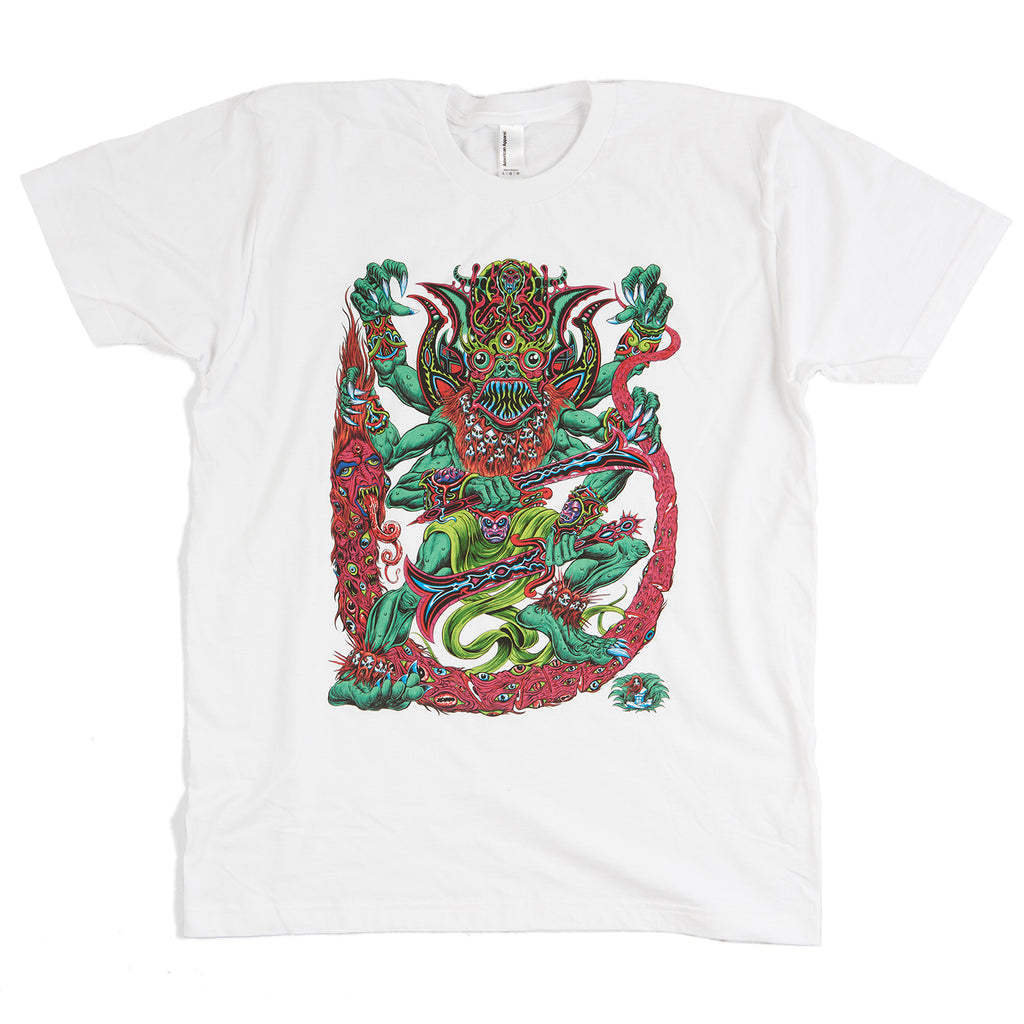 Dancing Death God T-Shirt (White)