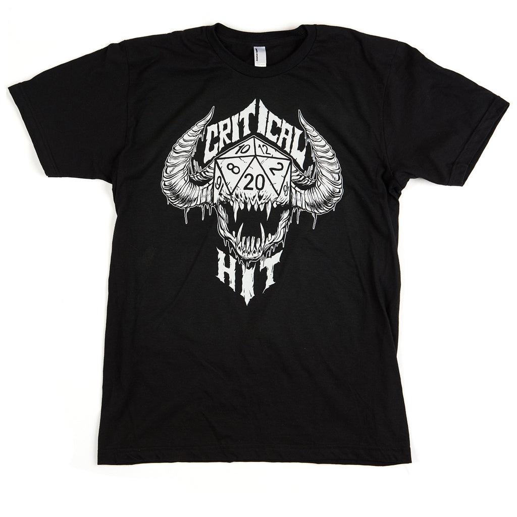 Critical Hit Logo T-Shirt (Black)