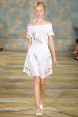 Tory Burch Summer Dress white