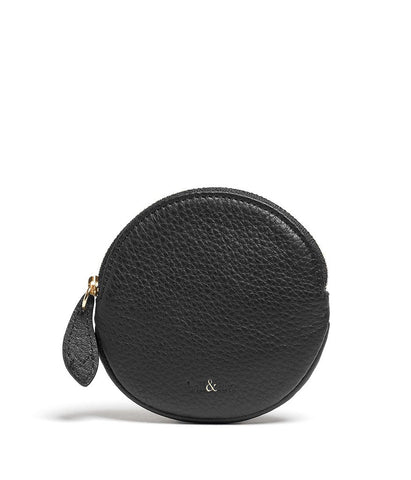 Bell & Fox – Round Coin Purse – Black