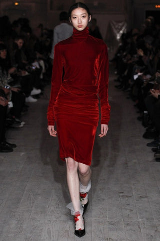 Shop red velvet fall trend