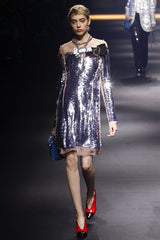 Lanvin sparkly dress ss16