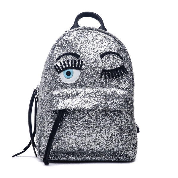 Chiara Ferragni - Flirting Glitter - Mini Backpack-Bags-Leggsington