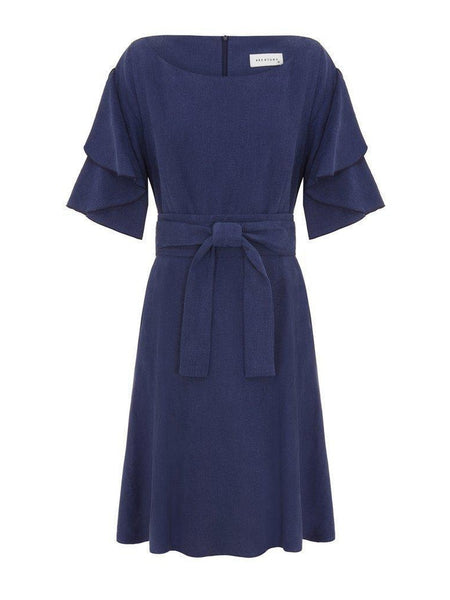 Chloe Dress- Navy-Dress-Leggsington