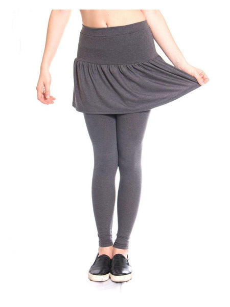 Skirt or membhobbdownload-zy.ga or membhobbdownload-zy.ga you're torn, look no further than these 2-in-1 Skater Skirt Leggings! With these leggings, deciding which outfit you want to wear has never been more simple! New Ladies Women's Pencil Seamless Stretchy FullLength Leggings with Skirt. £ Buy it now.