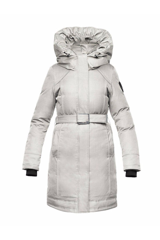 Nobis - Astrid Parka - Light Gray-Outerwear-Leggsington
