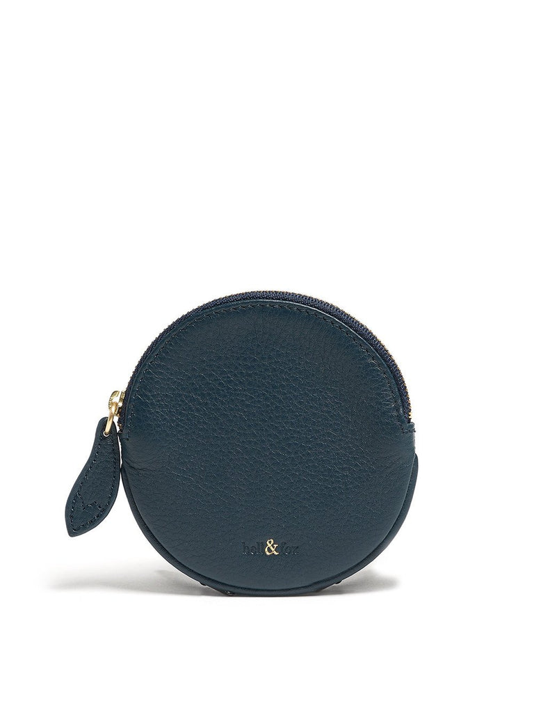 Bell & Fox - Round Coin Purse - Peacock-Bags-Leggsington