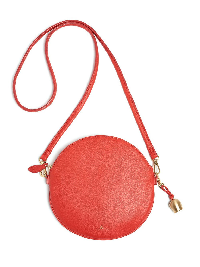 Bell & Fox - Round Crossbody Bag & Wristlet - Poppy-Bags-Leggsington