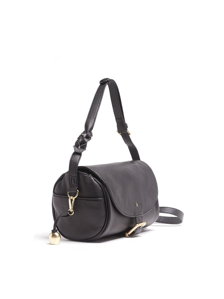 Bell & Fox - Barrel Bag - Black-Bags-Leggsington