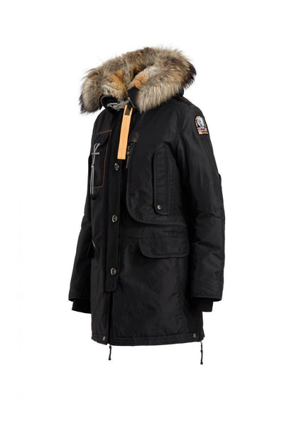 Parajumpers - Kodiak - Parka Jacket - Black-Outerwear-Leggsington
