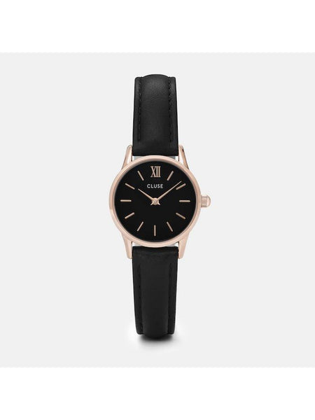 Cluse Watches - La Vedette - Rose Gold Black/Black