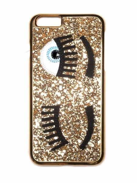 Chiara Ferragni - Flirting IPhone Case - Gold-Iphone Case-Leggsington