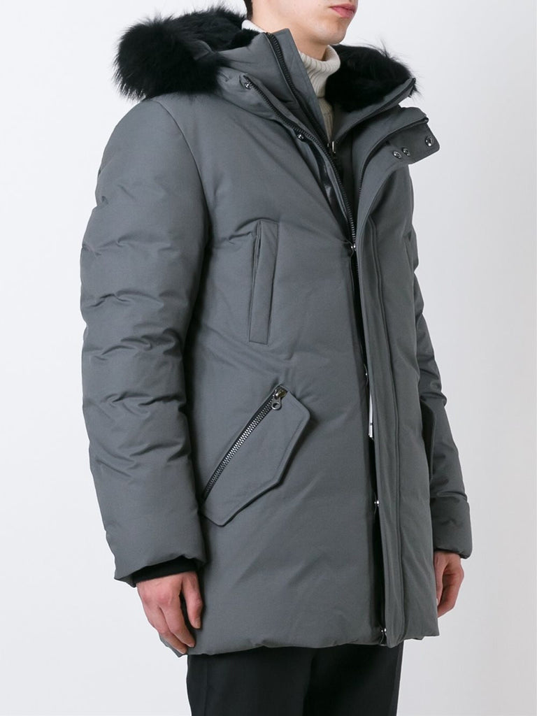 Mackage Men - Edward Down Jacket - Slate Gray-Outerwear-Leggsington